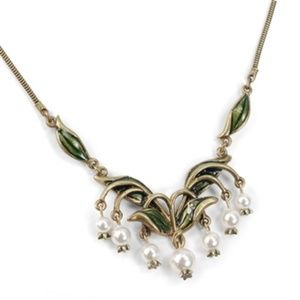 Shelly Cooper Sweet Romance Necklace Lilies